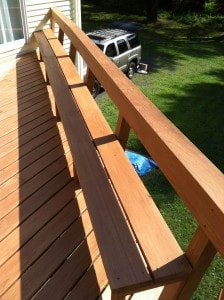 Deck Staining Photo 2