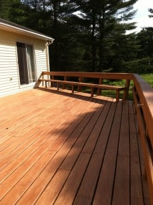 Deck Staining Photo 4
