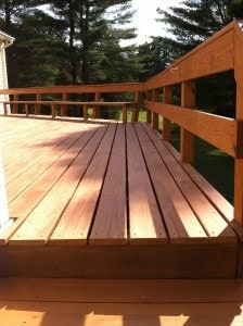 Deck Staining Photo 5