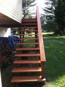 Deck Staining Photo 6