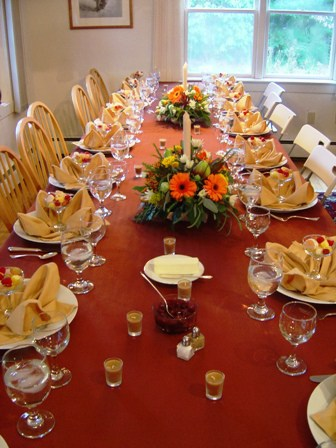 Planning thanksgiving traditions home partners Thanksgiving table