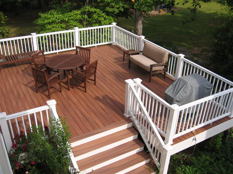 Wood or plastic home partners for Disadvantages of composite decking