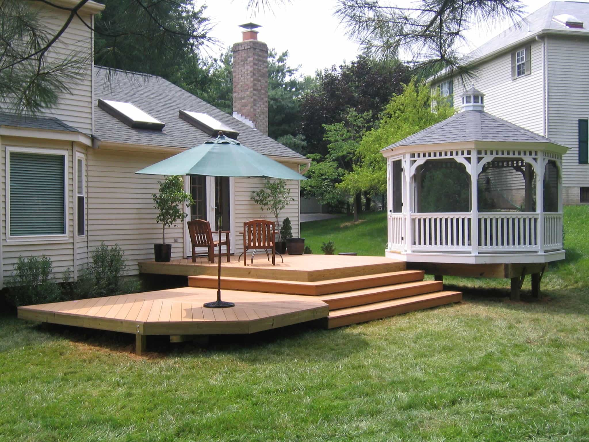 deck or porch home partners painting and carpentry upper